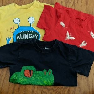 Lot of boys 4T Children's Place t-shirts